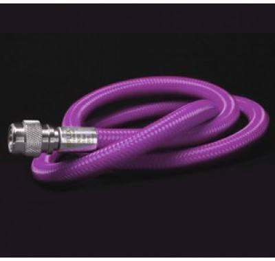 "Miflex Hoses - Regulator hose 3/8"" Purple - Mike's Dive Store"