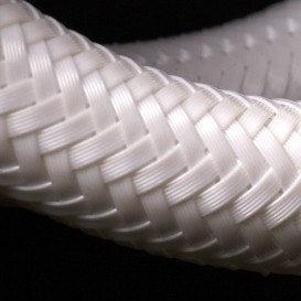 "Miflex Hoses - Regulator hose 3/8"" White - Mike's Dive Store"