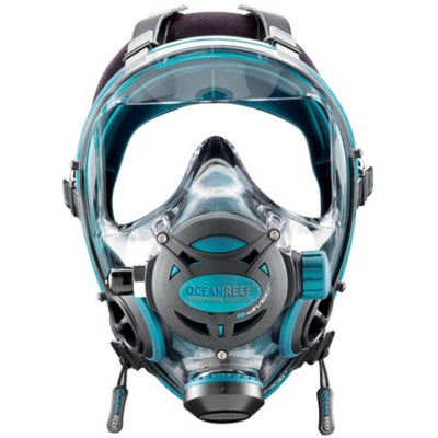 Ocean Reef Neptune Space G.diver Full Face Dive Mask - Emerald - Mike's Dive Store