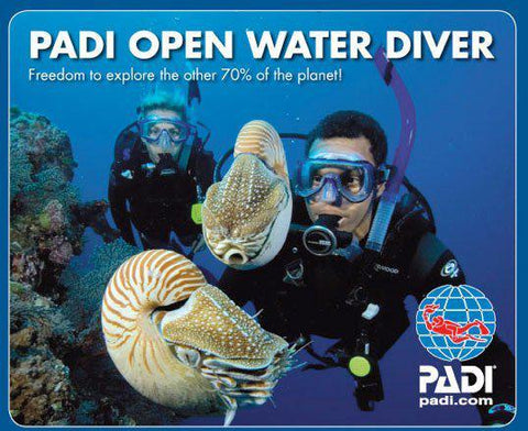 PADI Open Water Dive Course - London - Mike's Dive Store