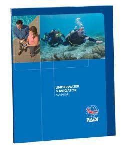 PADI Underwater Navigator Manual - Mike's Dive Store