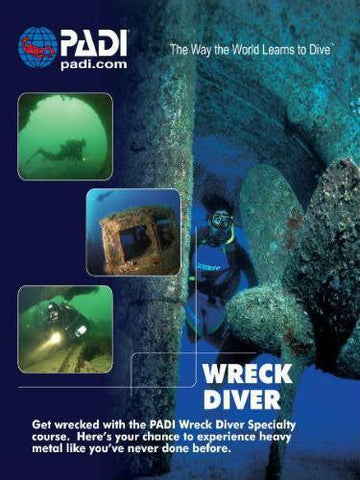 PADI Wreck Diver Course - London - Mike's Dive Store