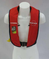 Typhoon Inflatable Racer Pro 275N Lifejacket & HarnessRed - Mike's Dive Store - 1