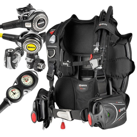 Mares Abyss Regulator and Pure SLS BCD Package - Mike's Dive Store