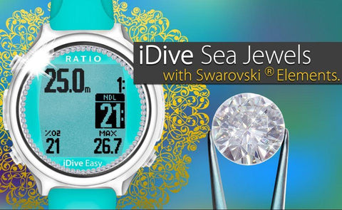 Ratio Watch iDive Sea Jewel SeriesRatio Watch iDive Easy Jewel Night - Mike's Dive Store - 1