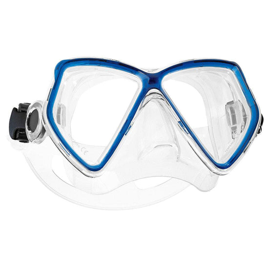 Scubapro Mini VU Dive Mask - Transparent Blue - Mike's Dive Store
