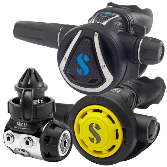 Scubapro MK11 C370 & R095 Octopus Regulator Set - DIN - Mike's Dive Store