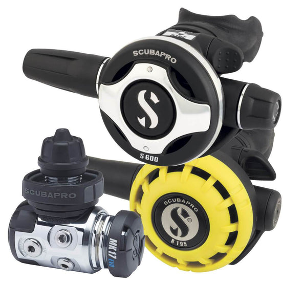 Scubapro MK17 EVO S600 Regulator with R195 Octopus - DIN - Mike's Dive Store