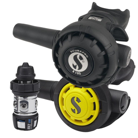 Scubapro MK2+ EVO R195 Regulator with R095 Octopus - DIN - Mike's Dive Store