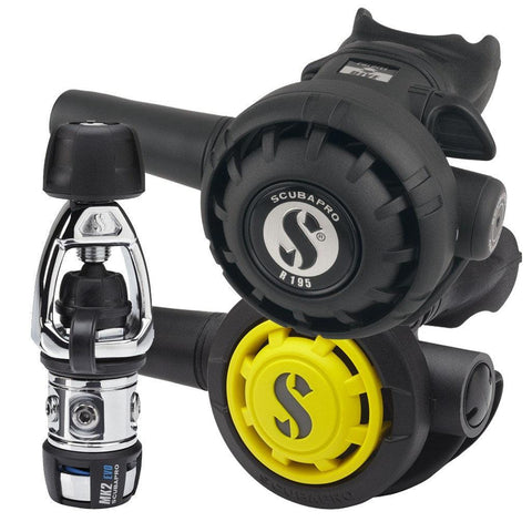 Scubapro MK2+ EVO R195 Regulator with R095 Octopus - INT - Mike's Dive Store