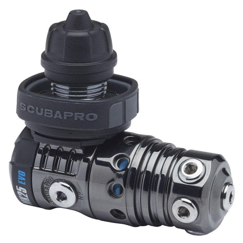 Scubapro MK25 EVO A700 Black Tech Carbon regulator - First Stage - Mike's Dive Store