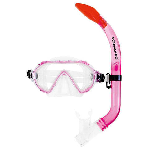 Scubapro Spider Mask and Snorkel Set - Pink - Mike's Dive Store