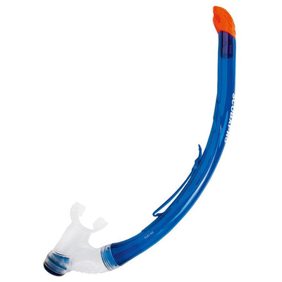 Scubapro Vent 2 Snorkel - Transparent Blue - Mike's Dive Store