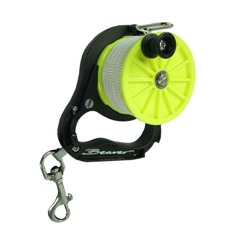 Beaver Puffin Mini Wreck-Line Reel - Mike's Dive Store