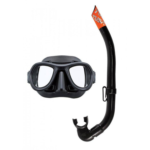 Tusa Panthas Mask and Snorkel Set - Mike's Dive Store
