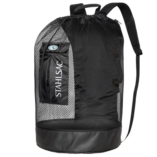 Stahlsac Bonaire Mesh Backpack - Black - Mike's Dive Store