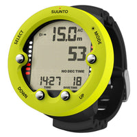 Suunto Zoop Novo Dive Computer - Lime - Mike's Dive Store