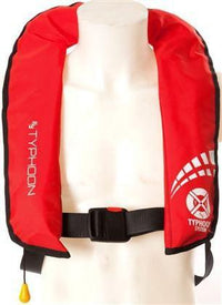 Typhoon Inflatable  Cyclone 150 Lifejacket AutomaticRed - Mike's Dive Store - 1