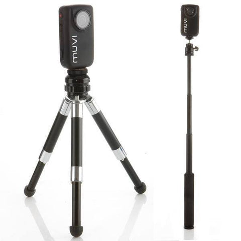 Veho Muvi Duopod Mini Monopod and Tripod Kit - Mike's Dive Store