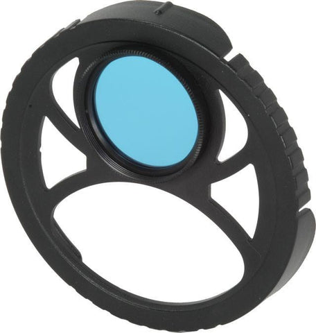Light and Motion Cyan Filter & Holder - Mike's Dive Store