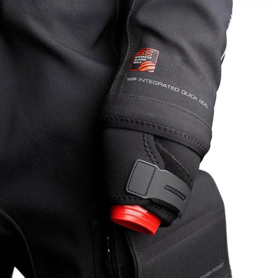 Waterproof D1 Hybrid Drysuit Men's - Integrated Silicone Seals (ISS) - Mike's Dive Store