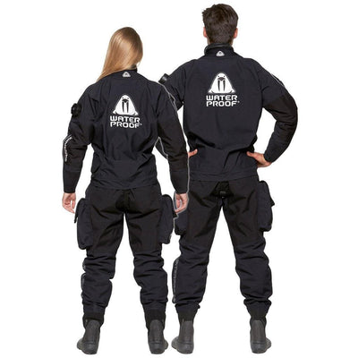 Waterproof D9X Breathable Drysuit - Backs - Mike's Dive Store