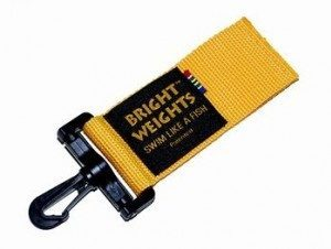 Bright Weights Clip On Weights Holster PairYellow - Mike's Dive Store - 2