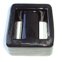 Lumb Lead Covered dive weights1 Kg Square - Black - Mike's Dive Store - 1