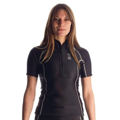 Wetsuits - Fourth Element Thermocline Women's Zipped Short Sleeve Top