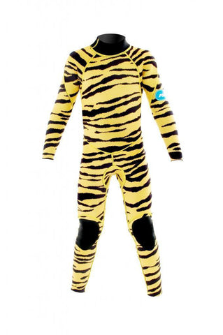 Full Length Tiger Wetsuit - Mike's Dive Store - 1