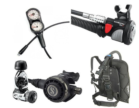 Scubapro MK17 G260 and Zeagle Lightweight Dive Travel Package