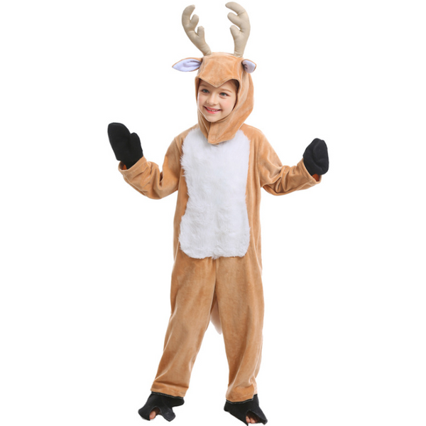 Elk Fawn Animal Christmas Halloween Cosplay Costume