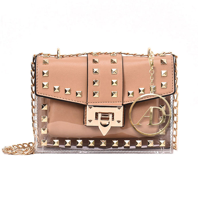 Goddess Gold Stud Bag