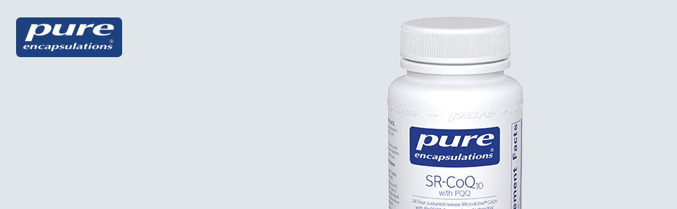 SR-CoQ10 with PQQ — 60 Capsules