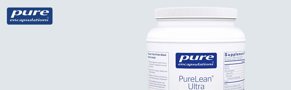 PureLean Ultra — Natural Vanilla Bean Flavor — 920 Grams