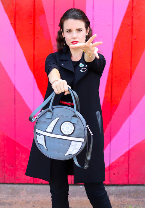 DIY Death Star featuring Harvey's Circle Bag in Storm
