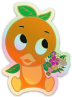 Load image into Gallery viewer, Blooming Sweetie Holographic Sticker!