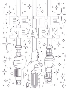 Be The Spark Coloring Page!