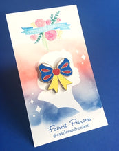 Load image into Gallery viewer, Fairest Princess Bow Pin!