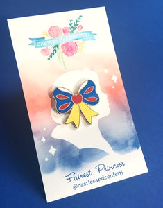 Fairest Princess Bow Pin!