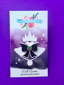 Evil Queen Bow Pin!