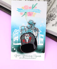 Load image into Gallery viewer, Grim Grinning Spork Ride Pin!