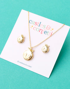 Blooming Sweetie Necklace & Earring Set!