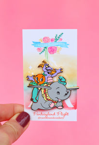 Fantasyland Flight Pin!