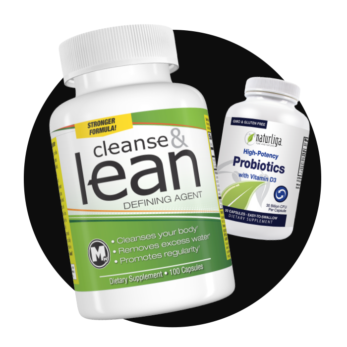 Buy cleanse & lean, get Naturliga™ Probiotics FREE