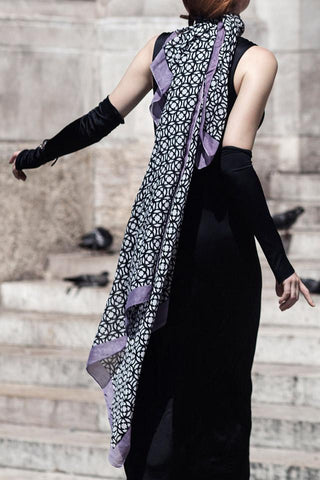 Silk shawl by Chambres Sweden