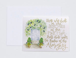 "Notecards- ""Those Who Dwell In The Secret Place"""