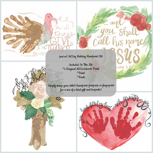 Handprint Kit- Holiday