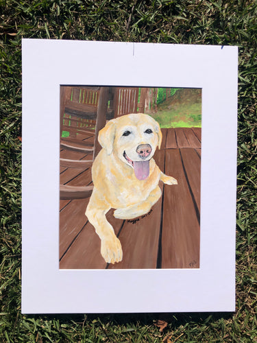 Custom Art- Pet Portrait Acrylic