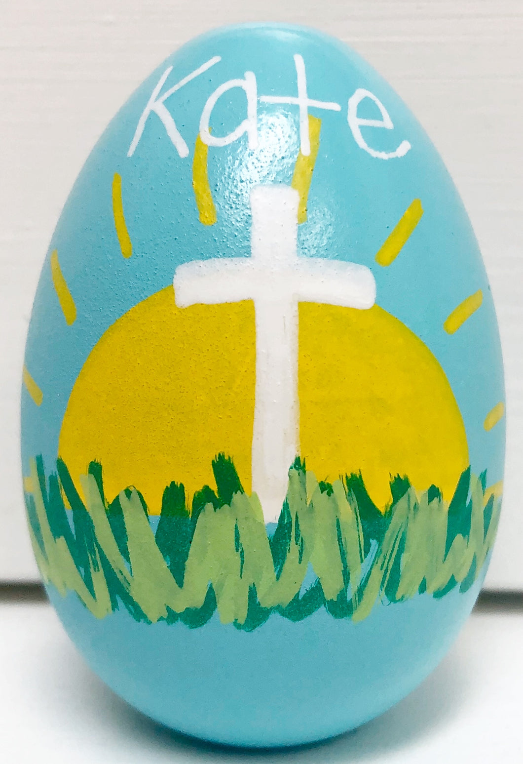 Easter Egg- Standard Cross
